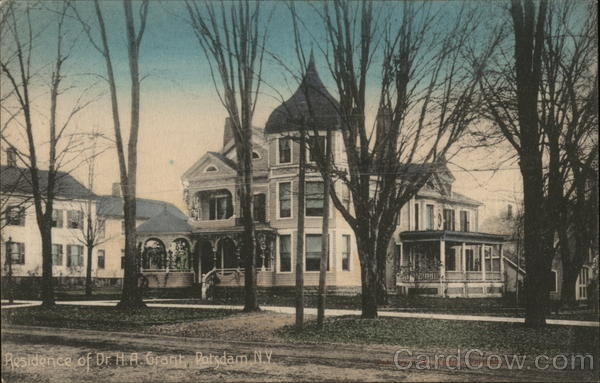 Residence of Dr. H.A. Grant Potsdam New York