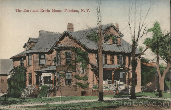 The Dart and Erwin Home Potsdam New York