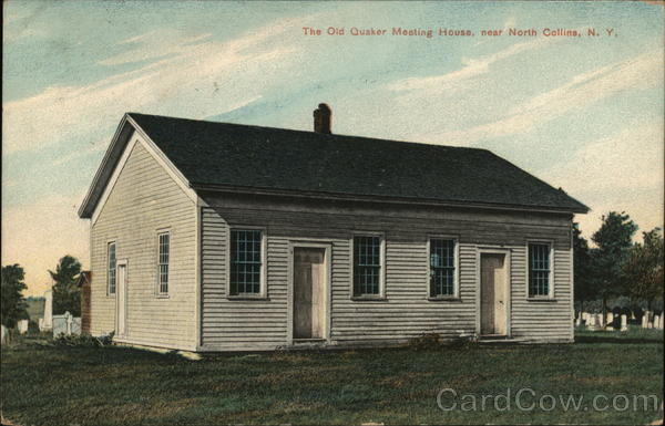 The Old Quaker Meeting House North Collins New York