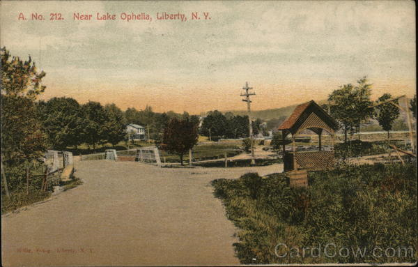New Lake Ophella Liberty New York