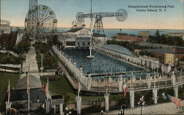 Steeplechase Swimming Pool Coney Island New York