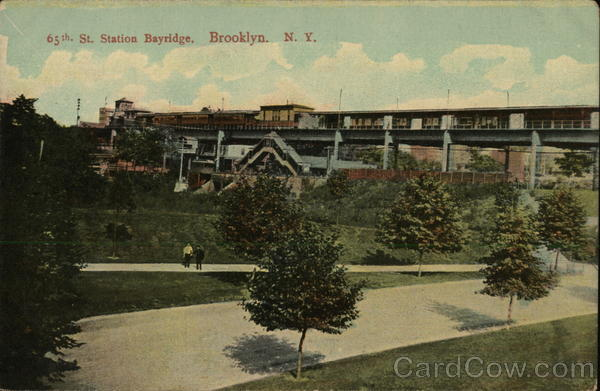 65th St. Station Bayridge Brooklyn New York