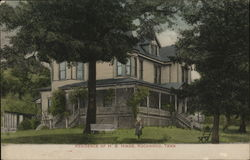 Residence of H.B. Hinds