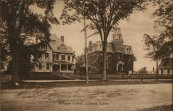 Morgan School Postcard