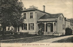 David Harum Residence Postcard