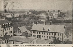 Bird's-eye View of Woodbury Shoe Co. and Derry Shoe Co.