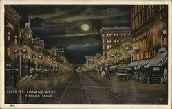 Falls Street Looking West