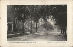 View on Roanoke Avenue, Riverhead, Long Island
