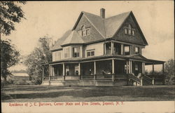 Residence of J.T. Burrows