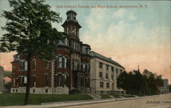 Odd Fellows Temple and High School