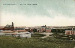 Syracuse University - Bird's Eye View of Campus