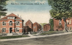 State Street, Alfred University