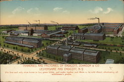 Tanneries and Factories of Endicott, Johnson & Company