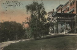 Jackson Health Resort Postcard