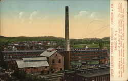 Upper Leather Tannery Endicott, Johnson & Co.