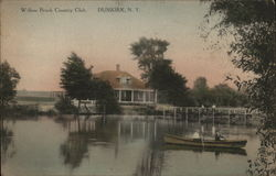 Willow Brook Country Club Postcard