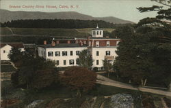 Greene County Alms House Postcard