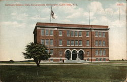 Carnegie Science Hall, St. Lawrence University Postcard