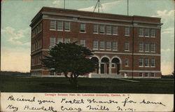 Carnegie Science Hall, St. Laurence University
