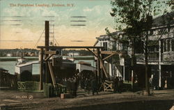 The Ferryboat Landing Postcard