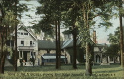 Home of the Friendless, Showing John Hodge Memorial Hospital Postcard