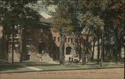 Niagara County Jail and County Clerk's Office Postcard