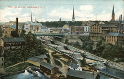 View of Locks Postcard