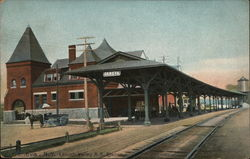 Lehigh Valley RR Station