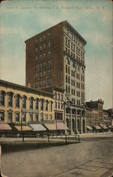 View of Genesee Street, City National Bank