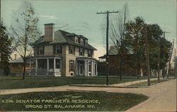 Senator Fancher's Residence, Broad Street
