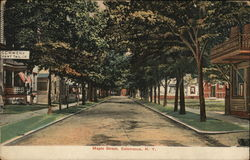 Maple Street Postcard