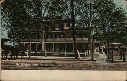 The Rhinebeck Hotel, the Oldest Hotel in America, built in 1700 Postcard