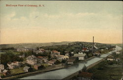 Bird's-eye View of Oriskany, N.Y.