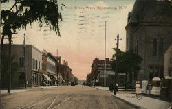 Ford Street, West Postcard