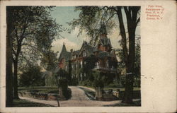 Fair View, Residence of Hon. F.V.V. Franchot