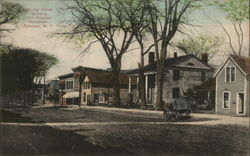 Market Street, Showing Old Knowles Residence Postcard