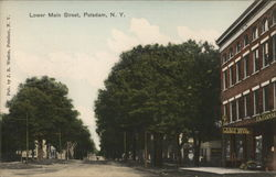 Lower Main Street Postcard