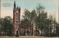 Trinity Church, Protestant Episcopal Postcard