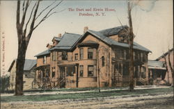 The Dart and Erwin Home Postcard