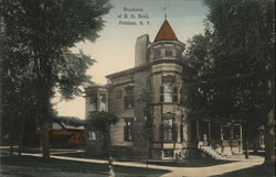 Residence of BH Snell Postcard