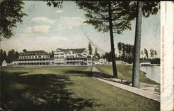 Paul Smith's Hotel on St. Regis Lake