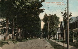 Clinton Street looking N. Postcard