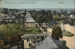 Birds Eye View of Broadway looking West