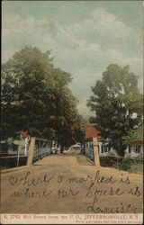 Mill Street from the Post Office Postcard