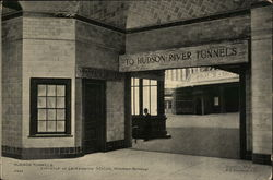 Hudson Tunnels. Entrance at Lockawanna Station