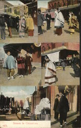 Scenes in Chinatown Postcard