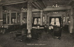 Parlor and Library, Hotel Woodstock