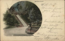 Carpeted Stairway, Prospect Park