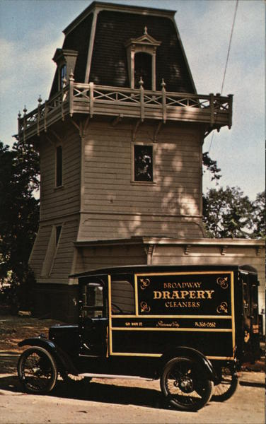 1922 Overland, Broadway Drapery Cleaners Redwood City California
