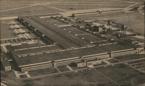 Kaiser-Frazer Automotive Plant Willow Run Michigan